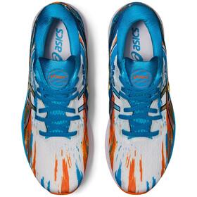 asics Gel-Nimbus 23 Shoes Men, azul/naranja
